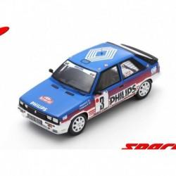 Renault 11 Turbo 3 Rallye Monte Carlo 1987 Ragnotti Thimonier Spark S5567