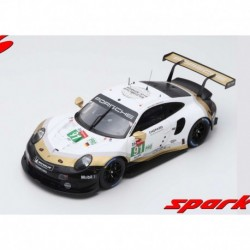 Porsche 911 RSR 91 24 Heures du Mans 2019 Spark 18S434