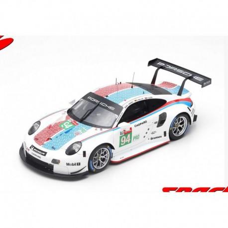 Porsche 911 RSR 94 24 Heures du Mans 2019 Spark 18S437