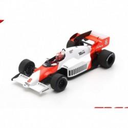 McLaren MP4-2 8 F1 Winner Angleterre 1984 Niki Lauda Spark S5395