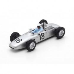 Porsche 804 18 F1 Italie 1962 Jo Bonnier Spark S7516