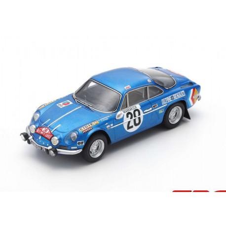 Alpine A110 28 Winner Rallye Monte Carlo 1971 Andersson - Stone Spark S6104