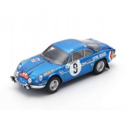 Alpine A110 9 2ème Rallye Monte Carlo 1971 Thérier - Callewaert Spark S6105