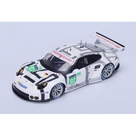 Porsche 911 RSR 92 24 Heures du Mans 2015 Spark S4664