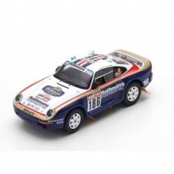 Porsche 959 186 Rallye Paris Dakar 1985 Metge Lemoine Spark S7818