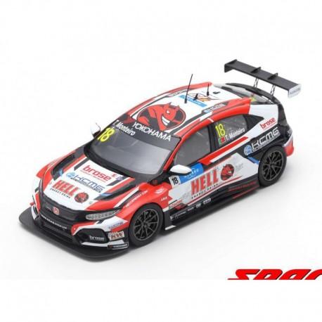 Honda Civic Type R TCR 18 WTCR Winner Vila Real Race 3 2019 Tiago Monteiro Spark S8957