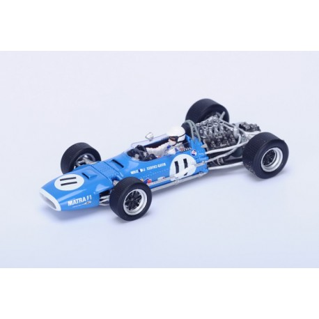 Matra MS10 F1 Monaco 1968 Johnny Servoz-Gavin Spark S1589