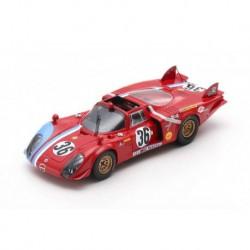 Alfa Romeo T33/2 36 24 Heures du Mans 1969 Spark S8800