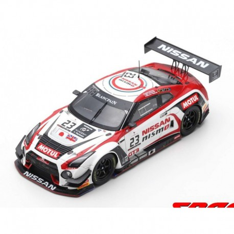Nissan GTR Nismo GT3 23 24 Heures de Spa Francorchamps 2016 Spark SB181