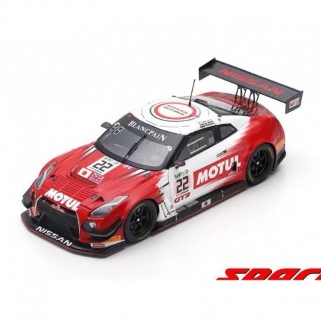 Nissan GTR Nismo GT3 22 24 Heures de Spa Francorchamps 2017 Spark SB183