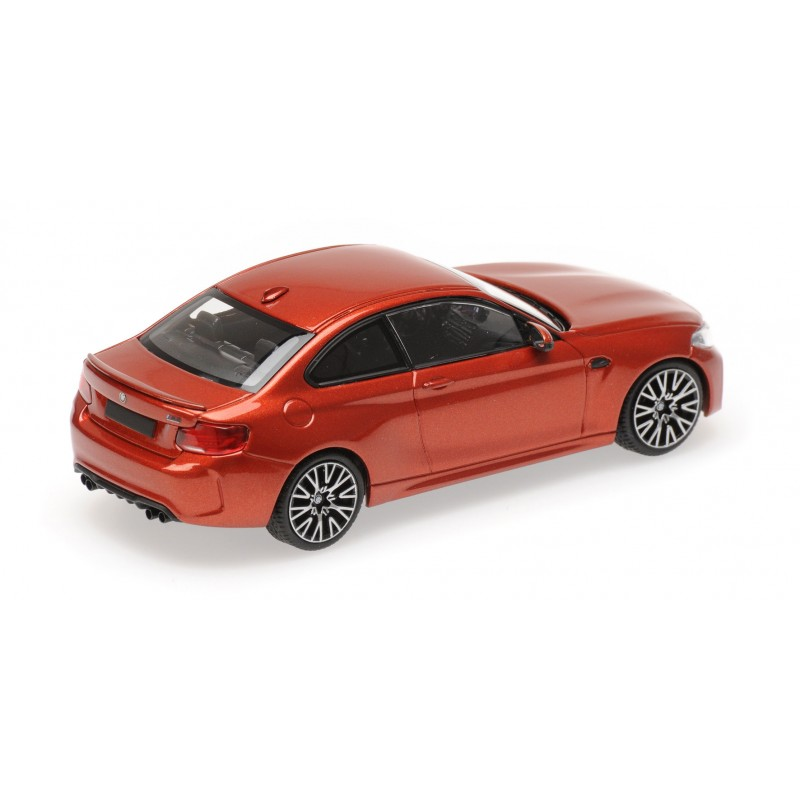 BMW M2 Competition 2019 Orange Metallic Minichamps