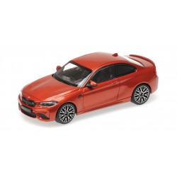 BMW M2 Competition 2019 Orange Metallic Minichamps 410026204