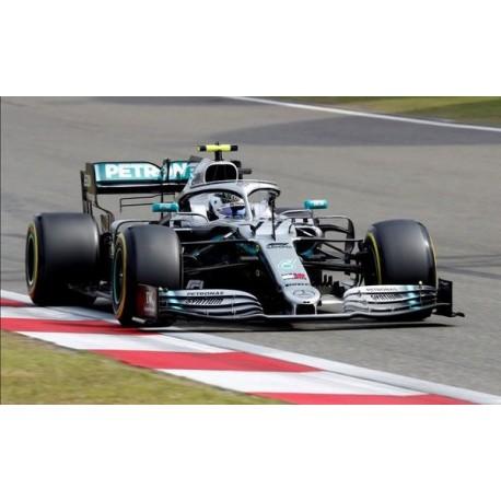 Mercedes F1 W10 EQ Power+ 77 F1 2ème Chine 2019 Valtteri Bottas Minichamps 110190377