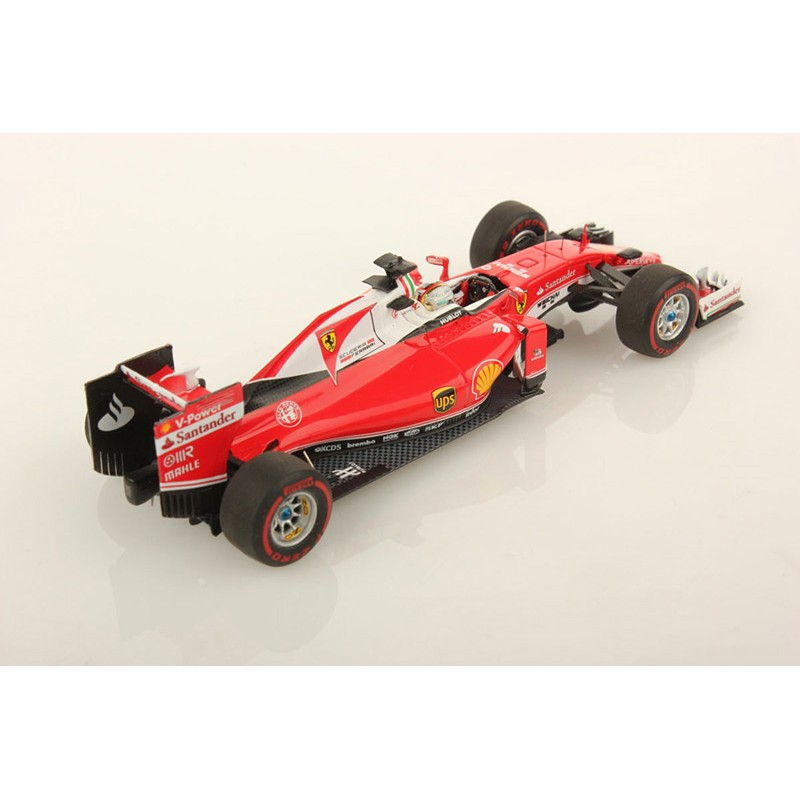 ferrari sf16 h f1 2016 sebastian vettel looksmart lsf104 miniatures minichamps. Black Bedroom Furniture Sets. Home Design Ideas