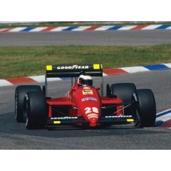 Ferrari F187 F1 1987 Gerhard Berger Looksmart LSF1H08
