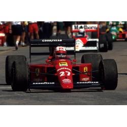 Ferrari 640 F1 1989 Nigel Mansell Looksmart LSF1H010