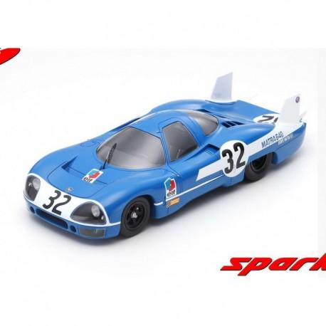 Matra 640 Test car 32 1969 Henri Pescarolo Spark 18S381