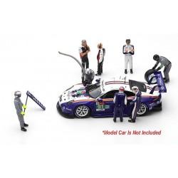 Figurines Porsche 911 RSR 91 2ème LMGTE Pro 24 Heures du Mans 2018 Spark S43AC012