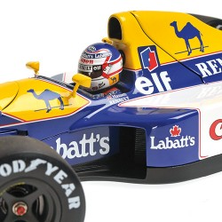 Williams Renault FW14B WC 1992 Nigel Mansell Minichamps 186920005