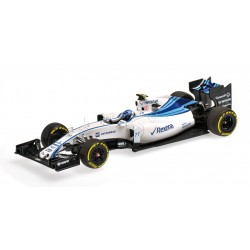 Williams Mercedes FW37 F1 Abu Dhabi 2015 Valtteri Bottas Minichamps 417150177