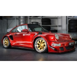 Porsche 964 Prior Design Custom Widebody Soul Red Premium Metallic GT Spirit GT277
