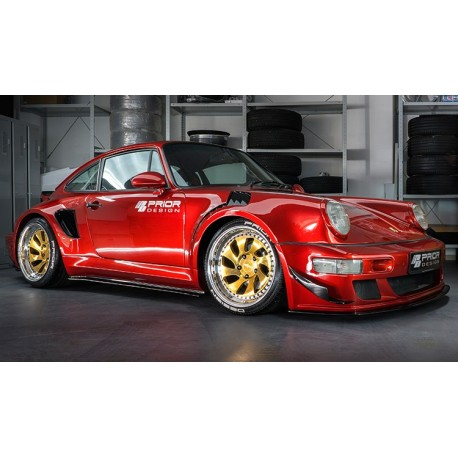 Porsche 964 Prior Design Custom Widebody Soul Red Premium Metallic GT Spirit GT277