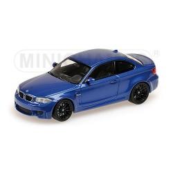 BMW M1 Coupé Bleu Métalisée 2011 Minichamps 410020026