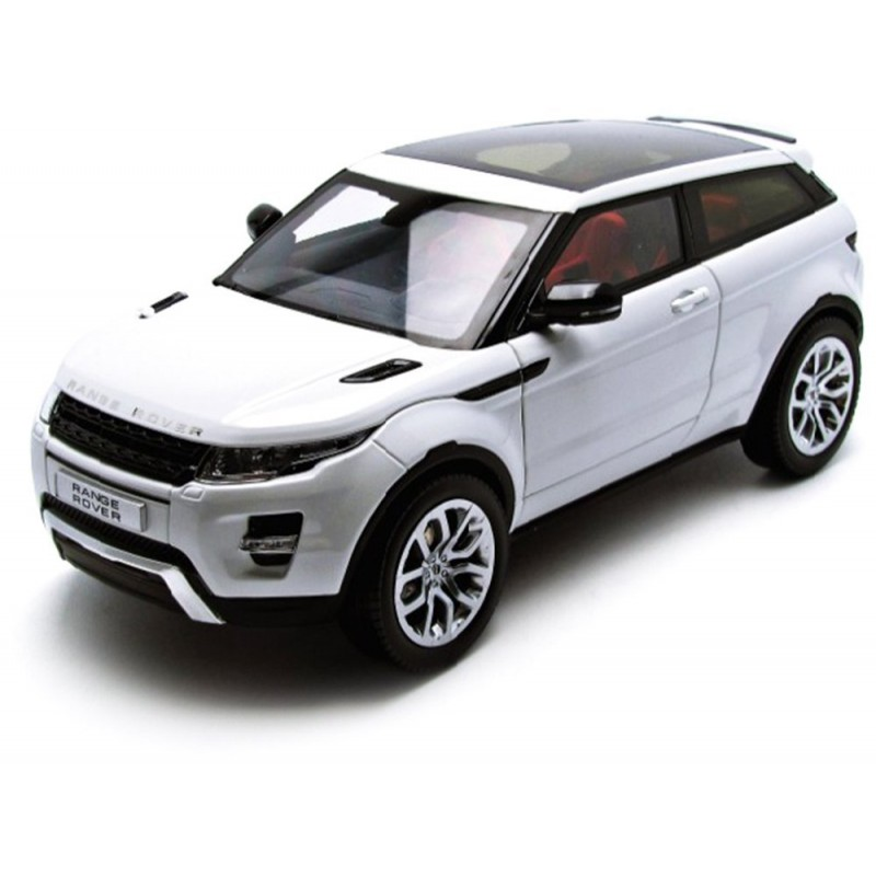 range rover evoque blanc 2012 welly 11003mb miniatures. Black Bedroom Furniture Sets. Home Design Ideas
