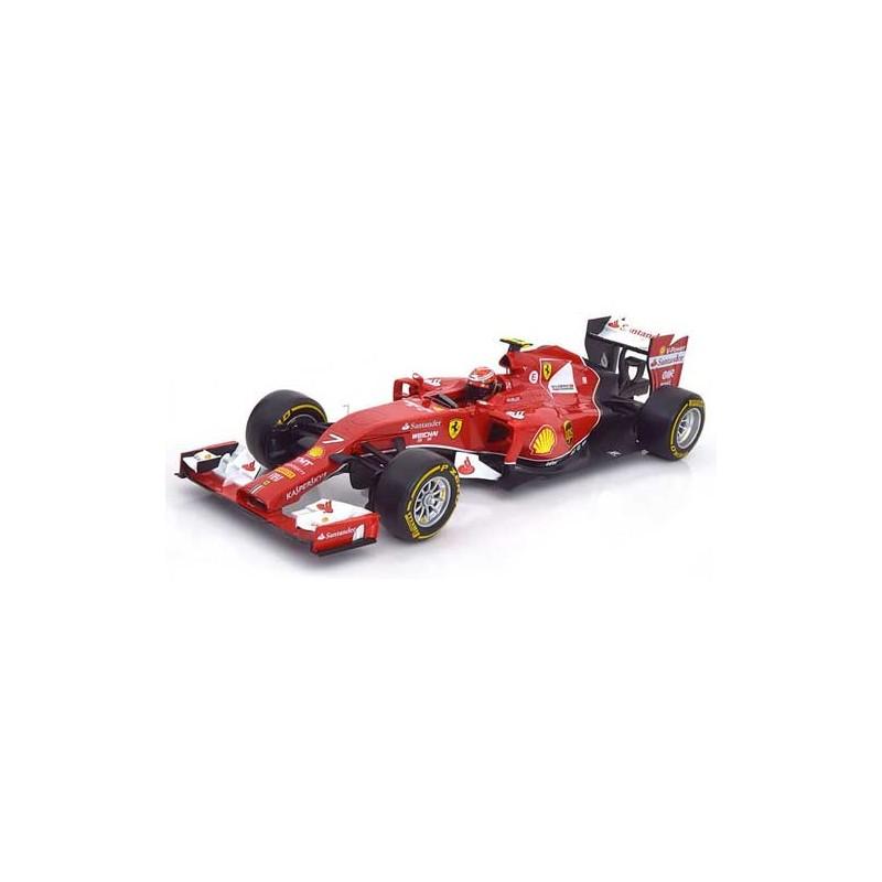 ferrari f14 t grand prix formule 1 2014 kimi raikkonen hotwheels bly70 miniatures minichamps. Black Bedroom Furniture Sets. Home Design Ideas
