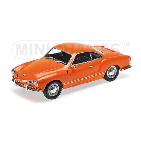 Volswagen Karmann Ghia Coup 233 Orange 1970 Minichamps