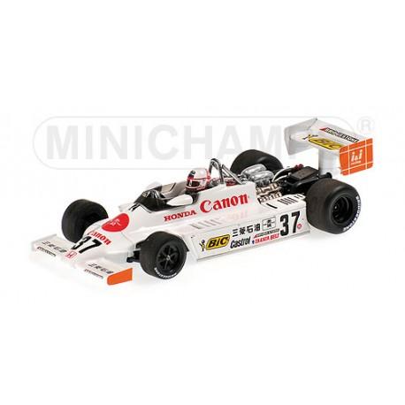 March Honda F2 812 F2 Suzuka 1981 Satoru Nakajima Minichamps 417810237