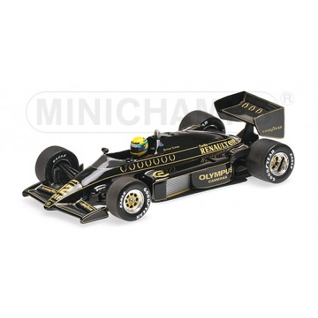 Lotus Renault 97T 1985 Ayrton Senna Minichamps 540854312