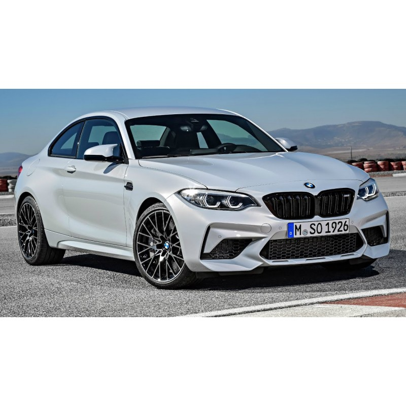 BMW M2 Competition 2019 Silver Minichamps 155028005