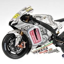 Yamaha YZR-M1 Moto GP Valencia 2007 Valentino Rossi Minichamps 122073176
