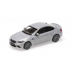 BMW M2 Competition 2019 Silver Minichamps 410026205