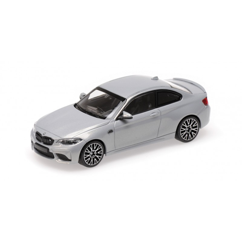 BMW M2 Competition 2019 Silver Minichamps 410026205