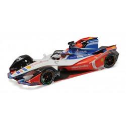 Mahindra Racing 64 Formula E Season 5 2019 Jerome d'Ambrosio Minichamps 114180064