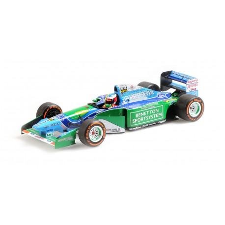 Benetton Ford B194 F1 Demonstration Run Belgian GP 2017 Mick Schumacher Minichamps 510941705