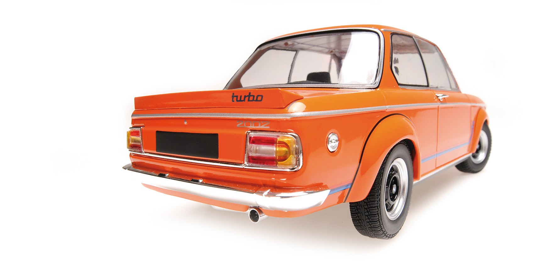 Bmw 2002 Turbo 1973 Orange Minichamps 155026202 Miniatures Minichamps