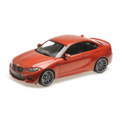 BMW M2 Competition 2019 Orange Metallic Minichamps 155028004