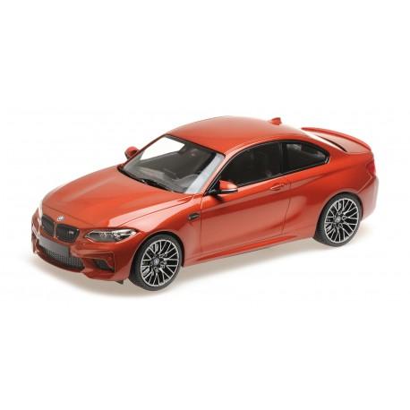 BMW M2 Competition 2019 Orange Metallic Minichamps 155028004