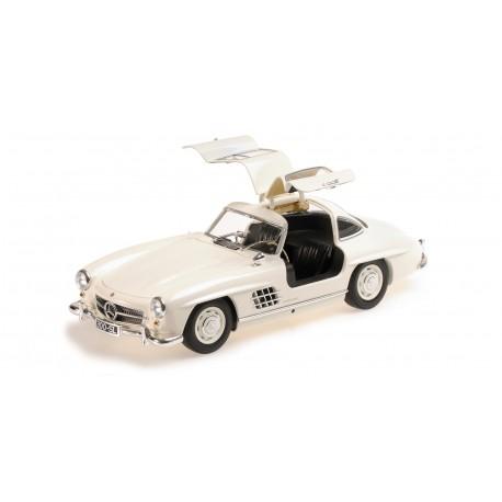 Mercedes Benz 300 SL W198 1955 White Minichamps 110037217