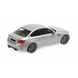 BMW M2 Competition 2019 Silver Minichamps 155028005