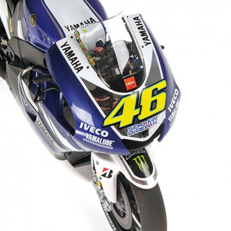 Yamaha YZR-M1 Moto GP 2013 Valentino Rossi Minichamps 122133046