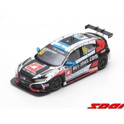 Honda Civic Type R TCR 86 WTCR Winner Marrakesh Race 1 2019 Esteban Guerrieri Spark S8954