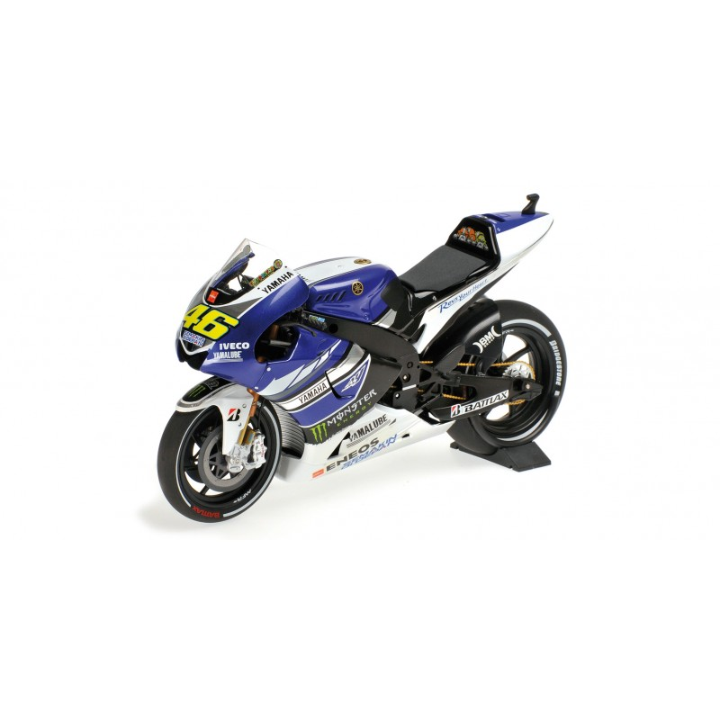 yamaha yzr m1 moto gp 2013 valentino rossi minichamps 122133046 miniatures minichamps. Black Bedroom Furniture Sets. Home Design Ideas