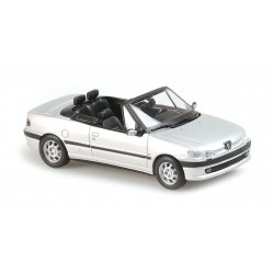 Peugeot 306 Cabriolet 1998 Silver Maxichamps 940112832
