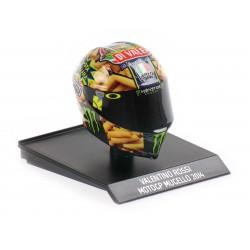 Casque Helmet AVG 1/10 Valentino Rossi Moto GP Mugello 2014 Minichamps 315140086