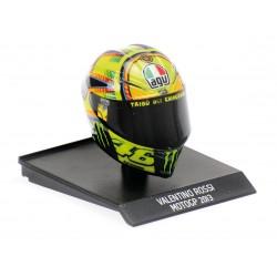 Casque Helmet AVG 1/10 Valentino Rossi Moto GP 2013 Minichamps 315130046