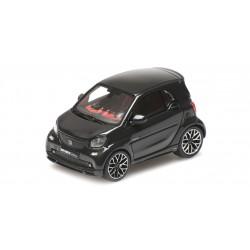 Smart Brabus Ultimate 125 2017 Black Minichamps 437036200